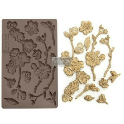 Cherry Blossoms - Redesign Decor Moulds - Re-Design With Prima