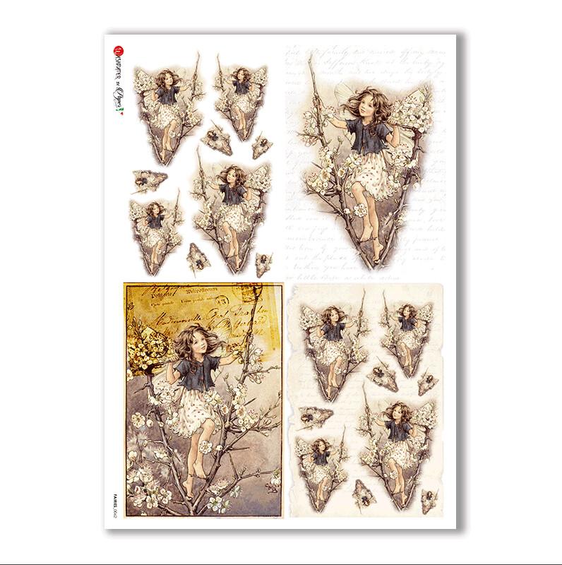 Fairies-0062 - A4 Rice Paper - Paper Designs