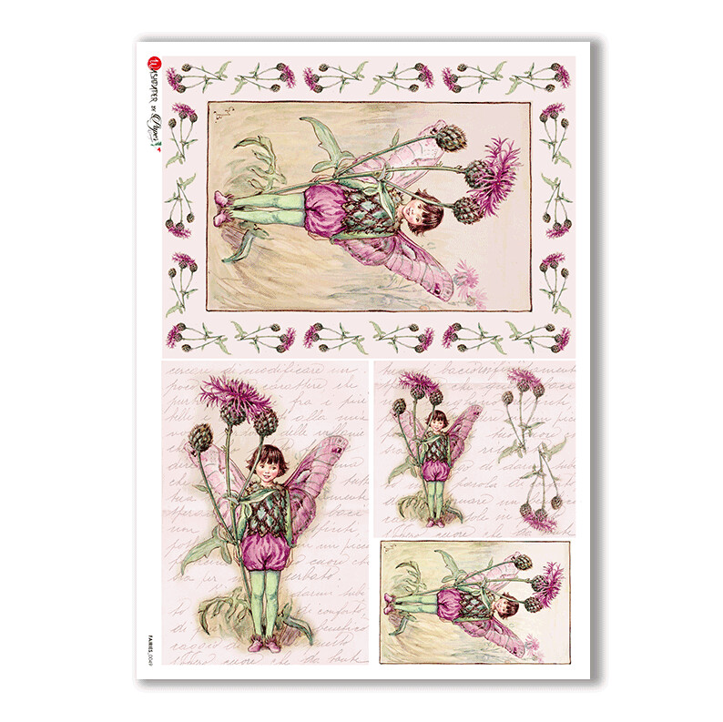 Fairies-0049 - A4 Rice Paper - Paper Designs