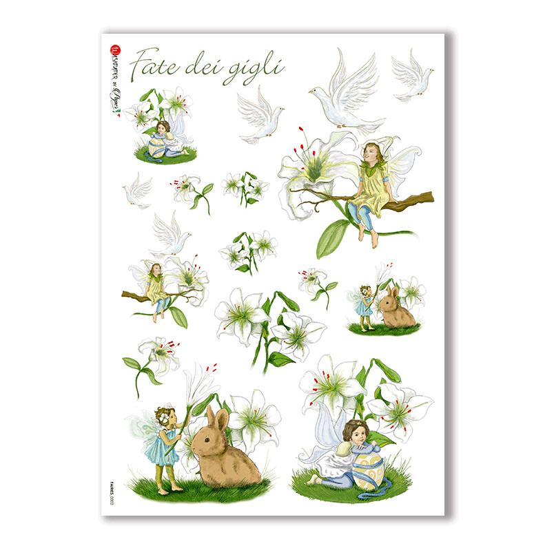 Fairies-0002 - A4 Rice Paper - Paper Designs