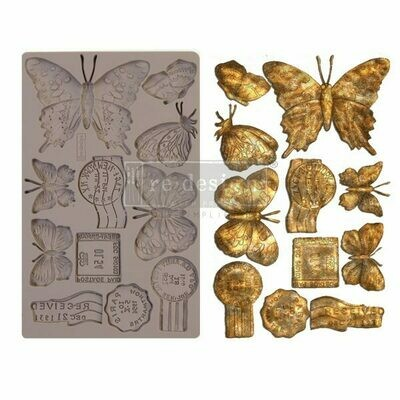Butterfly in Flight - Decor Mould - Re-Design With Prima