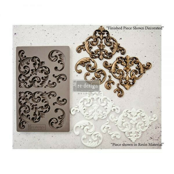 Hollybrook Ironwork - Redesign Decor Moulds - Re-Design With Prima