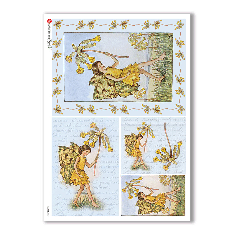 Fairies-0045 - A4 Rice Paper - Paper Designs