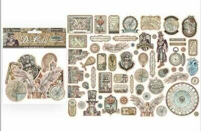 Sir Vagabond Assorted Die Cut Pieces - Stamperia