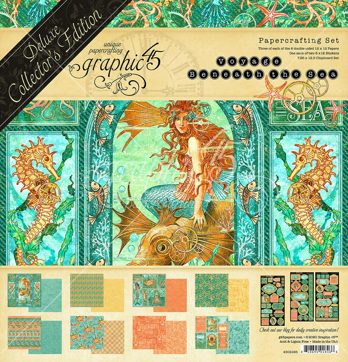 Voyage Beneath the Sea - Deluxe Collector's Edition - Graphic 45