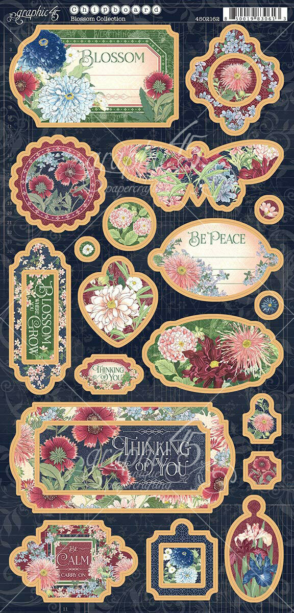 Blossom Chipboard - Graphic 45