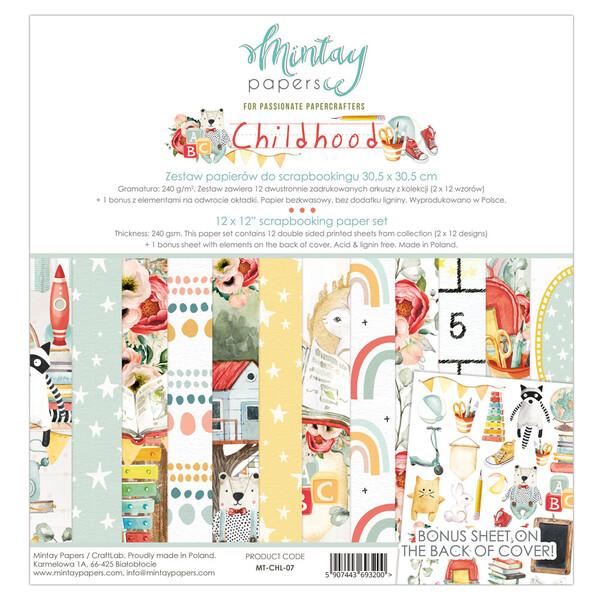Childhood 12x12 - Mintay by Karola