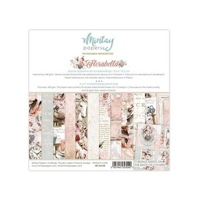 Florabella 6x6 - Mintay by Karola