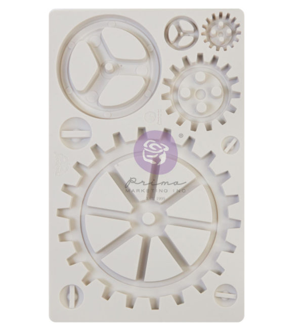 Large Gears - Finnabair Moulds - Re-Design With Prima