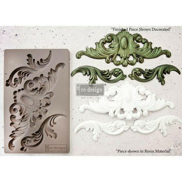 Thorton Medallion - Redesign Decor Moulds - Re-Design With Prima
