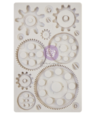 Machine Parts - Finnabair Moulds - Re-Design With Prima