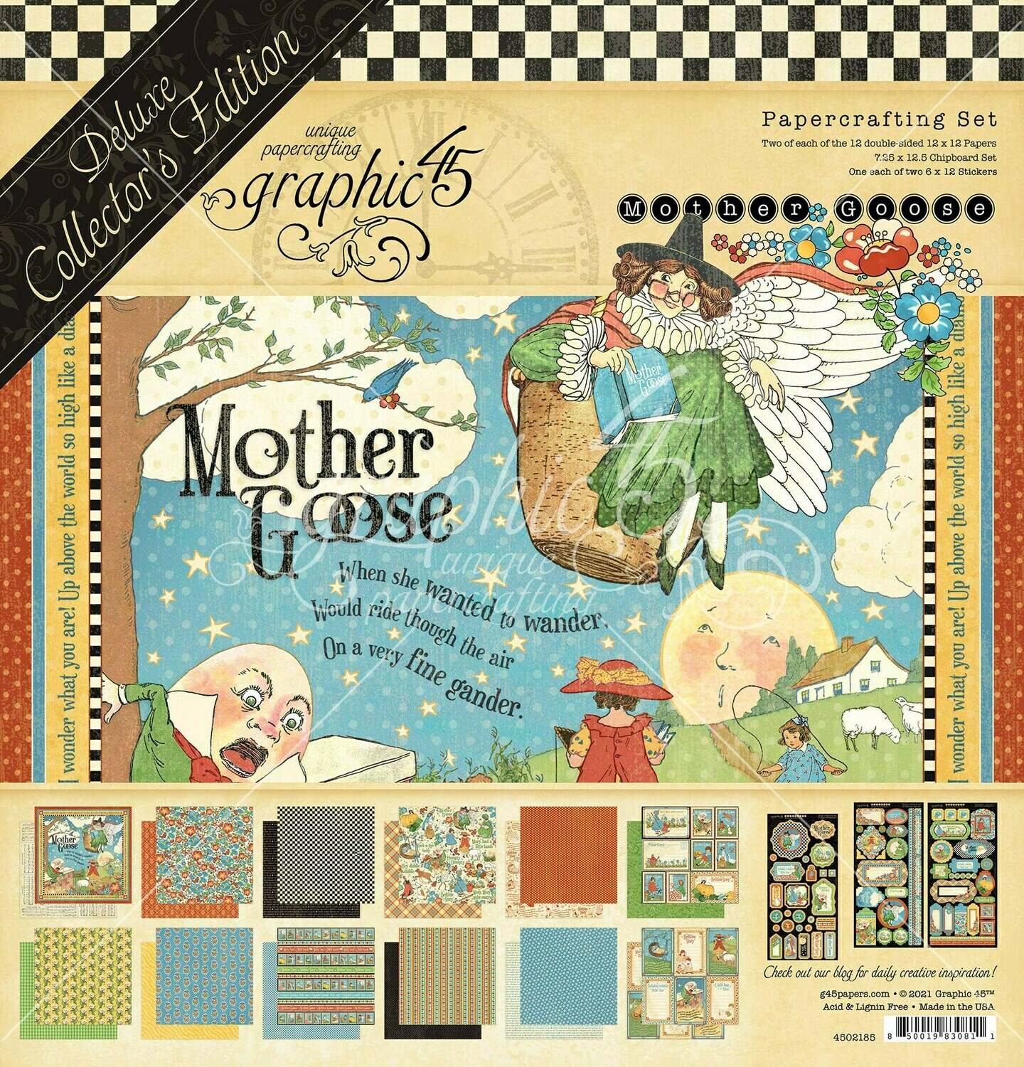 Mother Goose - Deluxe Collector's Edition - Graphic 45