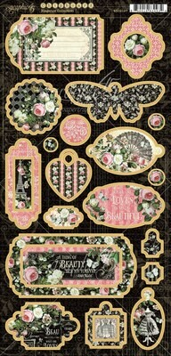 Elegance Chipboard - Graphic 45