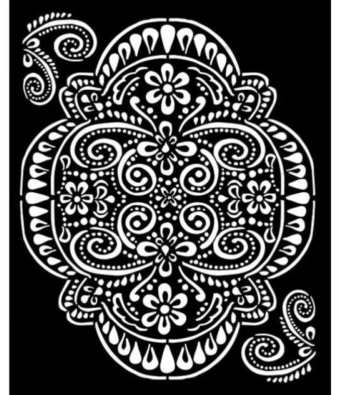 Lace Stencil - Atelier Des Arts Collection - Stamperia
