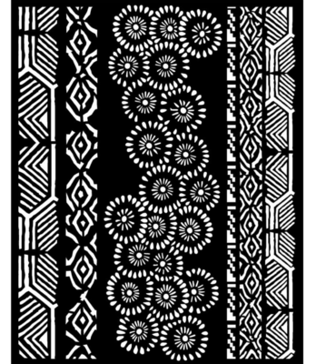 Tribals Stencil - Amazonia Collection - Stamperia
