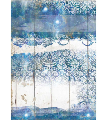 Texture A4 Rice Paper - Romantic Sea Dream Collection - Stamperia
