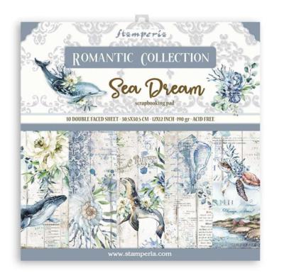 Romantic Sea Dream 12x12 Paper Pad - Romantic Sea Dream Collection - Stamperia