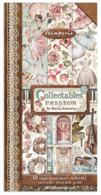 Passion 6x12 Collectibles Paper Pad - Passion Collection - Stamperia