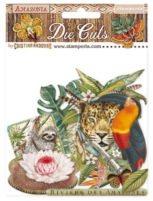 Amazonia Assorted Die Cut Pieces - Amazonia Collection - Stamperia