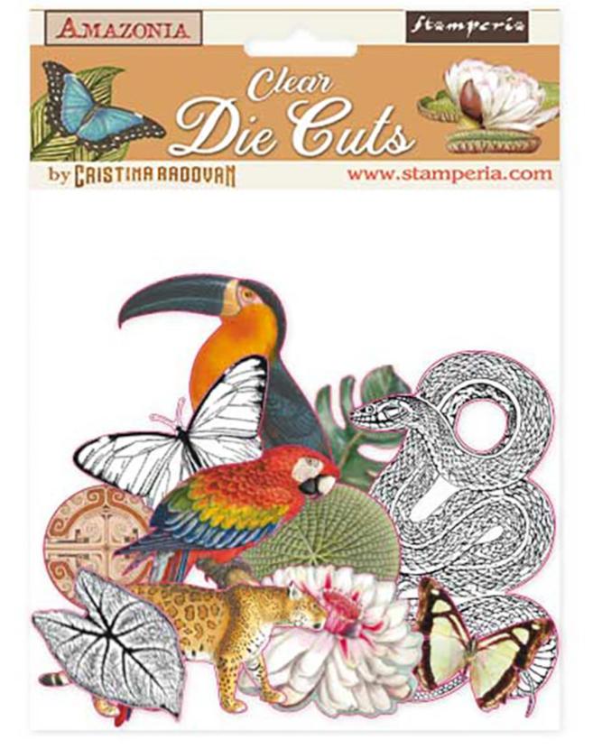 Amazonia Acetate Pieces - Amazonia Collection - Stamperia