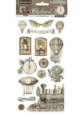 Voyages Fantastiques Chipboard - Stamperia