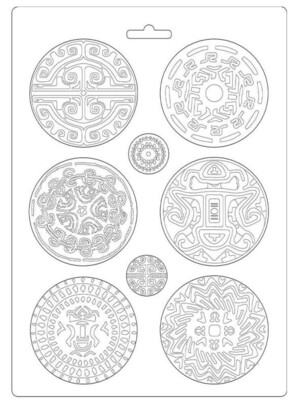 Tribals A4 Soft Mould - Amazonia Collection - Stamperia