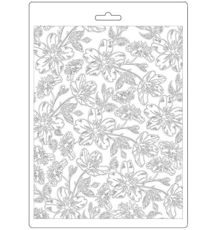 Van Gogh Blossoms A5 Soft Mould - Atelier Des Arts Collection - Stamperia