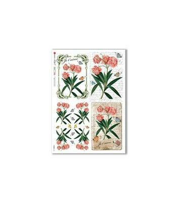 Flowers-0362 - A4 Rice Paper - Paper Designs