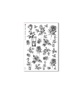Flowers-0370 - A4 Rice Paper - Paper Designs
