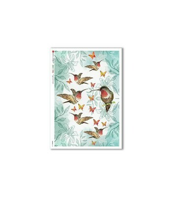 Animals-0149 - A4 Rice Paper - Paper Designs