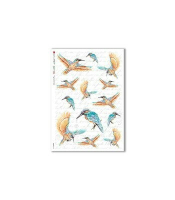 Animals-0147 - A4 Rice Paper - Paper Designs