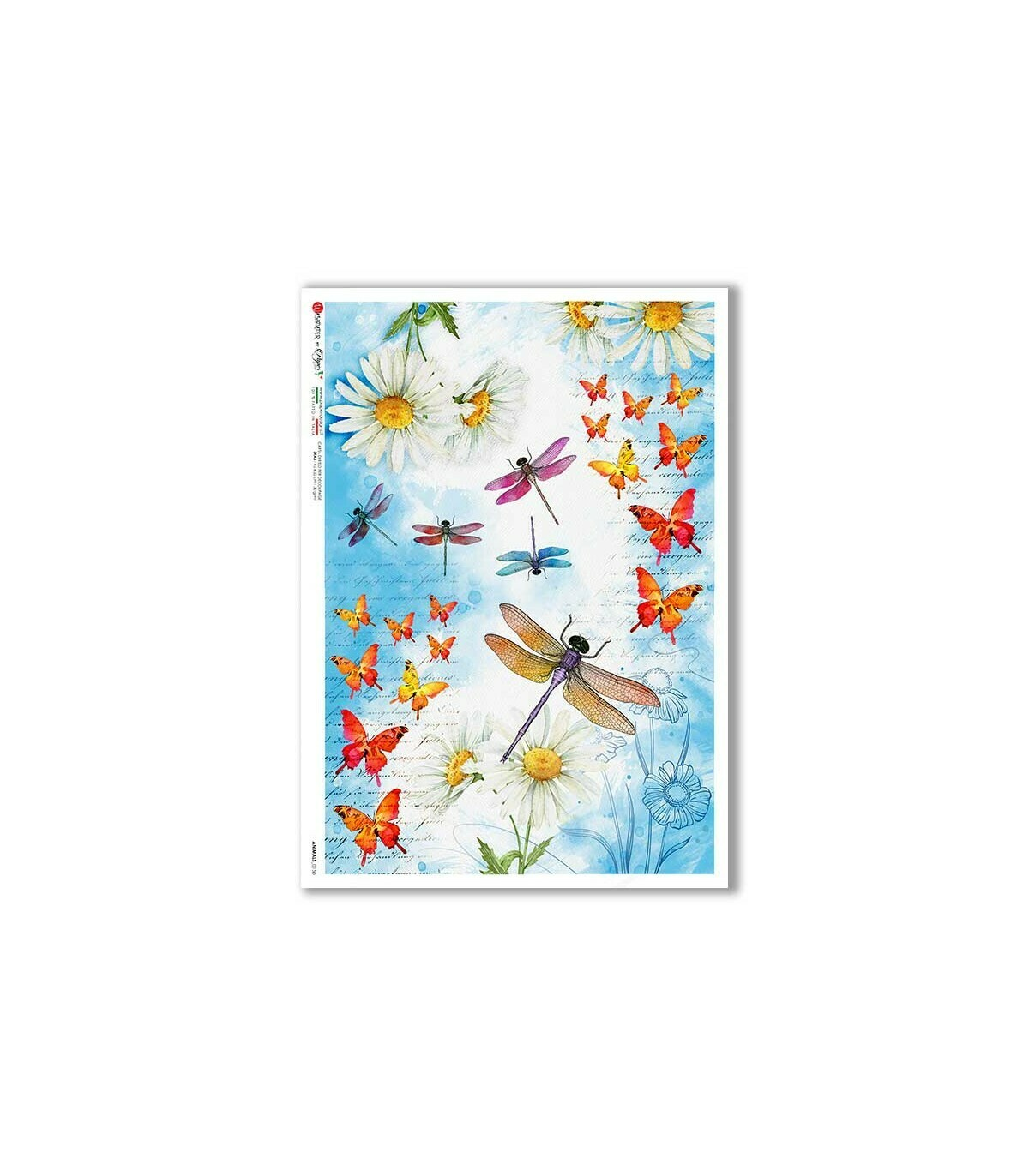 Animals-0150 - A4 Rice Paper - Paper Designs