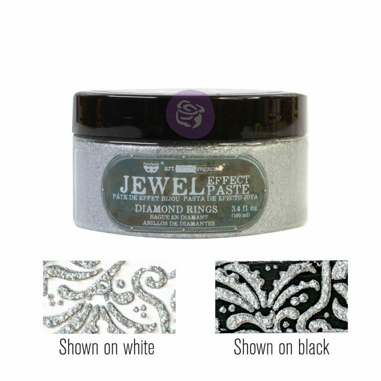 Diamond Rings - Jewel Texture Paste - Art Extravagance - Prima