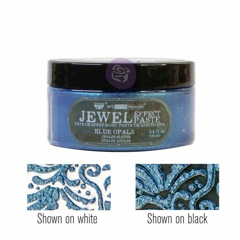 Blue Opals - Jewel Texture Paste - Art Extravagance - Prima