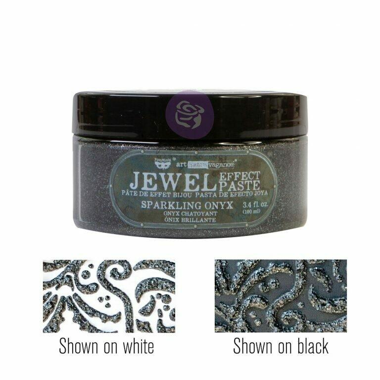 Sparkling Onyx - Jewel Texture Paste - Art Extravagance - Prima