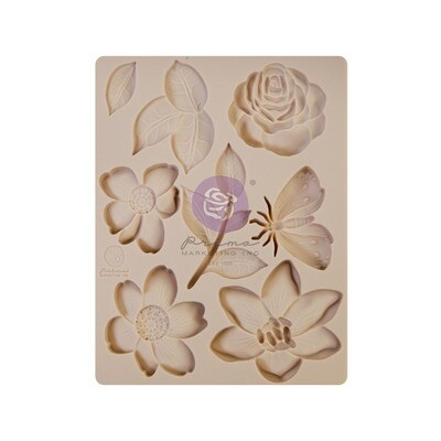 Watercolor Collection - Silicone Mould - Prima Marketing