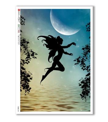 Fairies_078 - A4 Rice Paper - Paper Designs