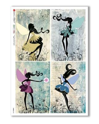 Fairies_075 - A4 Rice Paper - Paper Designs