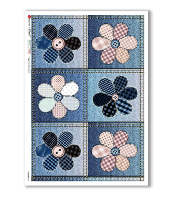 Country_0067 - A4 Rice Paper - Paper Designs