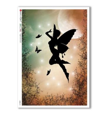 Fairies_077 - A4 Rice Paper - Paper Designs