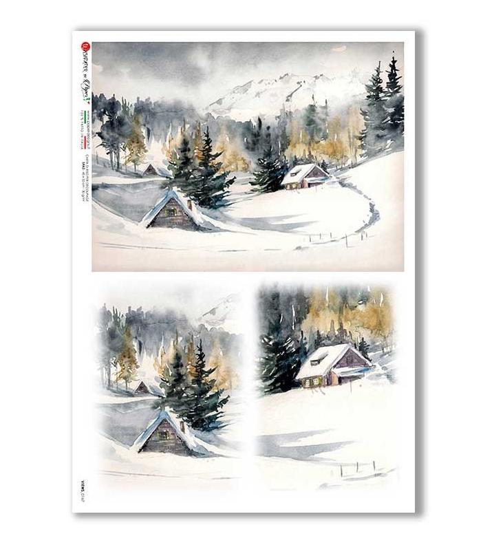 Views_0167 - A4 Rice Paper - Paper Designs