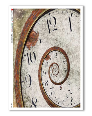 Time_0024 - A4 Rice Paper - Paper Designs