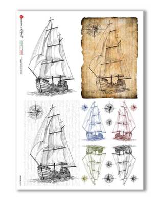 Vehicles_0037 - A4 Rice Paper - Paper Designs