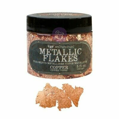 Copper Metal Flakes - Art Ingredients - Re-Design With Prima