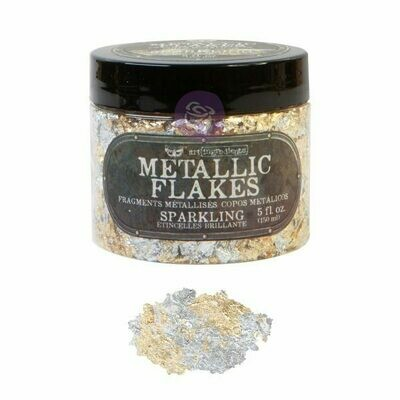 Sparkling Metal Flakes - Art Ingredients - Re-Design With Prima