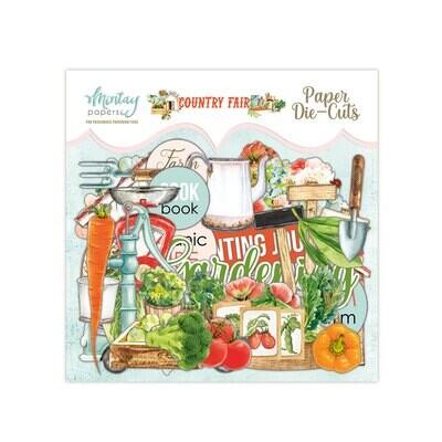 Country Fair Paper Die Cuts - Mintay by Karola