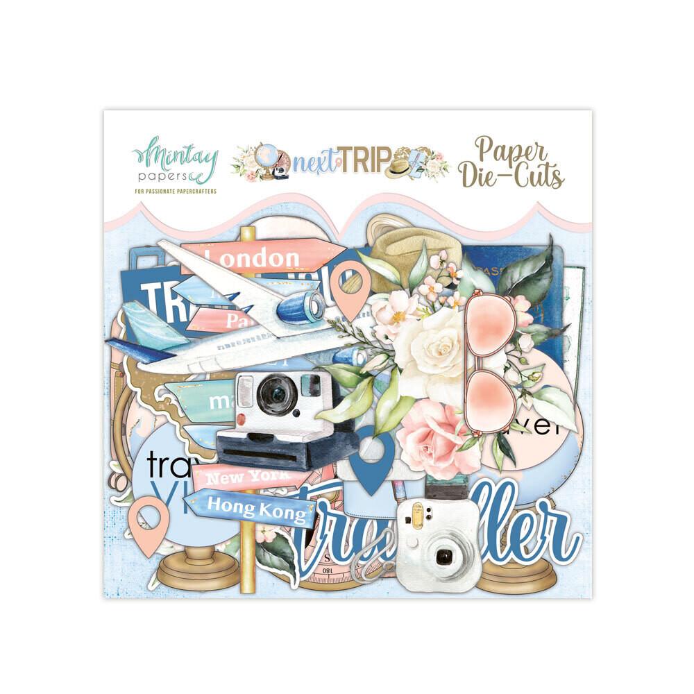 Next Trip Paper Die Cuts - Mintay by Karola