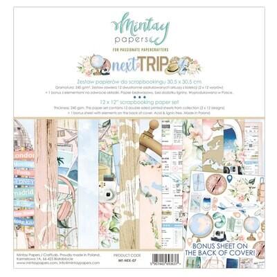 Next Trip 12x12 - Mintay by Karola
