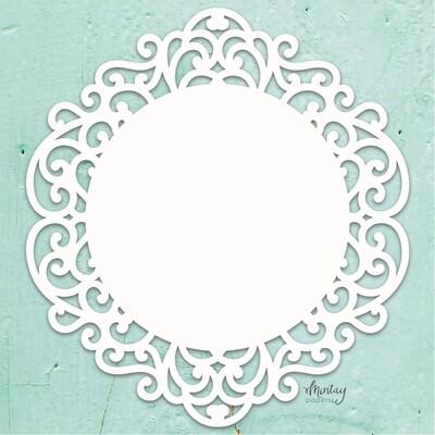 Fancy Circle Chippies - Mintay by Karola