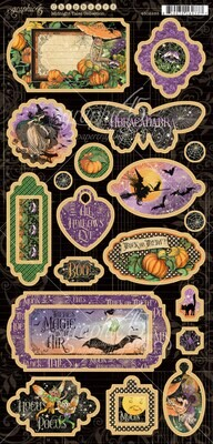 Midnight Tales Chipboard - Graphic 45
